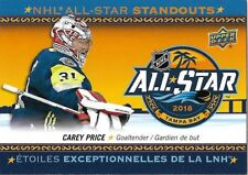 Carey Price #AS-5 - 2018-19 Tim Hortons - NHL All-Star Standouts