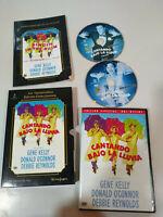 Cantando Bajo la Lluvia - DVD + Libro Español English Region 2