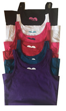 GIRLS VEST TOP T SHIRT 100%COTTON SIZES 7YRS / 13YRS