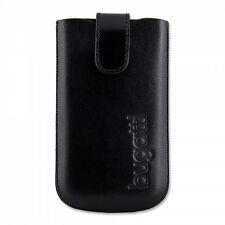 Bugatti Slim Case Ledertasche Größe XL Magnetverschluss - Black