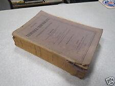 MANUEL DE TECHNIQUE CHIRURGICALE des opérations courantes MARION 1904 médecine *