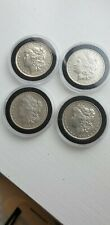 More details for four usa silver morgan dollars 1882 1883 1889 1890 new orleans mint mark
