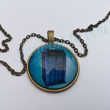 Key Ring Pendant Gift Jewellery Uk Doctor Who Tardis Pendant Necklace or