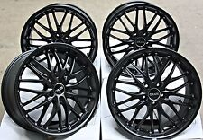 "18"" CRUIZE 190 MB ALLOY WHEELS FIT OPEL ADAM S CORSA D ASTRA H & OPC"