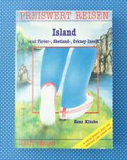 Island | Färöer-, Shetland-, Orkney-Inseln | Preiswert Reisen | Buch |