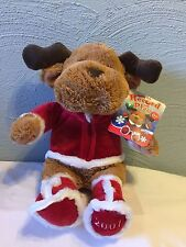 "15"" Snuggie Pets 2007 Record Play Holiday Pets Reindeer Plush Soft Snuggly Kids"