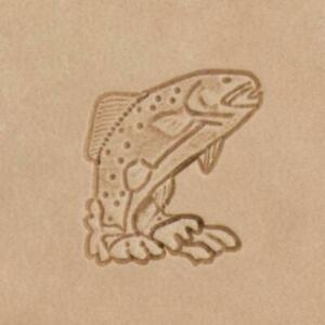 Mini Craftool® 2-D Leather Stamp -Trout
