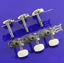 2pcs Tuning Pegs Keys Machine Heads Tuner Rubber Single Port Classical Guitar