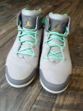 Nike Air Jordan Melo 1.5 Mens Sz 11.5 Gray/Green 631310-014 Carmelo Anthony RARE