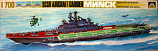 SU Flugzeugträger MINSK, Aoshima, Bausatz, 1:700