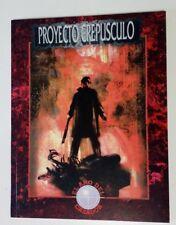 Proyecto Crepúsculo. El Año del Cazador. Mundo de Tinieblas (1ª ed. 1997)
