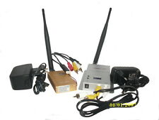 Kit di Trasmissione Audio-Video 2.4Ghz Trasmettitore + Ricevitore Wireless 2.0km