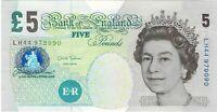 UK, Great Britain, 2002 (2012) 5 Pounds P391d  ((Unc))
