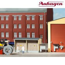 Auhagen 11427 H0 Trafostation mit Zubehör ++ NEU & OVP ++