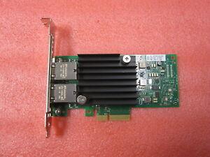Intel X550-T2 10Gb RJ45 Dual Port Full Height Network Card Dell 4V7G2
