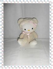 M - Magnifique Peluche Doudou Hello Kitty Assise Capuche Sanrio