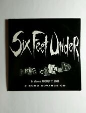 SIX FEET UNDER TRUTH CARNAGE ONE BULLET LEFT IMPULSE SAMPLER 3 SONGS MUSIC CD