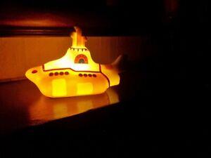 THE BEATLES YELLOW SUBMARINE MINI LED LIGHT USB & BATTERY POWERED LIGHT UP LAMP