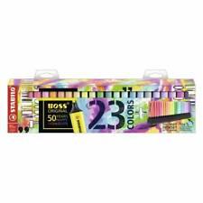 Rotulador Fluor Stabilo Boss&boss pastel 23 colores novedad