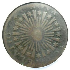 1783 Nova Constellatio Copper Colonial Coin - NGC VG Details (NCS) - Rare!
