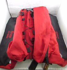 Snap Fitness Red & Black Bag Backpack Saddle Bags Outward Hound Pet Travel Gear
