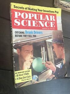Vintage Popular Science March 1961 Mechanix Illustrated December 1960 Magazines