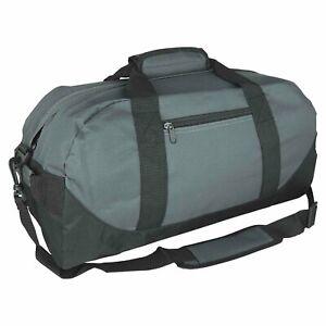 "Duffle Bag Two-Tone Sports Gym Travel Luggage Bag Gym Bag Multi-Color, 18"""