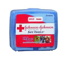 J&J First Aid Kit Safe Travels 1 Box **Free Shipping** Missing Oinment