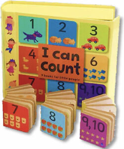 Mini-Treasuries I Can Count (Box Set, 9 Board Books). FREE shipping $35