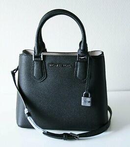 Michael Kors Bag / Bag Adele Md Messenger Leather Black