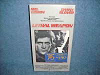 LETHAL WEAPON - VHS - MEL GIBSON - DANNY GLOVER - NEW SEALED