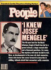 1985 People June 24-I knew Dr. Josef Mengele;Joe Frazier;John Travolta;Coca Cola