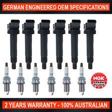 6x Genuine NGK Iridium Spark Plugs & 6x Ignition Coils for Lexus RX300 ES300