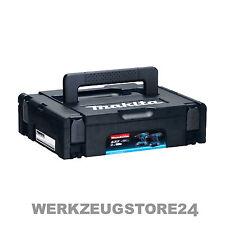Makita MAKPAC Systemkoffer Gr. 1 - schwarz - mit Festool Systainer kompatibel