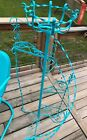 Vintage Wrought Iron Plant Stand TWISTED METAL ORNATE 51