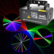 SUNY Stage Lighting Beam DMX 512 RGB Laser Red Green Blue DJ Light Full Color