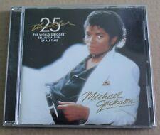 Michael Jackson, thriller - 25 ème anniversaire, CD