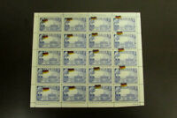 Liberia Stamps XF OG NH Intact Sheet of 20 Flag Shift Error Rare