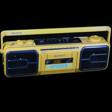 Sony Sports Cfs-950 Water Resistant Cassette-Corder-Player Am/Fm Premium Boombox