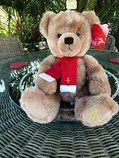 2000 HARRODS Annual Christmas Teddy Bear - Collectable Birthday Anniversary Baby