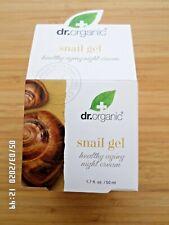 DR ORGANIC SNAIL GEL HEALTHY AGEING NIGHT CREAM 50ML