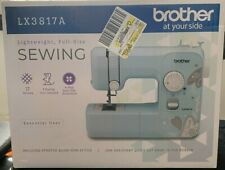 Brother LX3817A 17-Stitch Full-Size Aqua Sewing Machine - NEW, SHIPS NOW