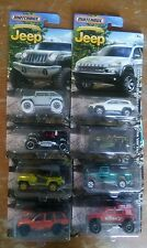 Matchbox Complete set Jeep Anniversary Edition 8 Jeeps