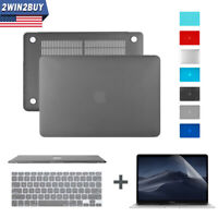 For MacBook Air 13 Inch Hard Case Shell & Keyboard & Screen Cover A1369 A1466