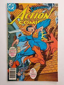 ACTION COMICS #479 (VF) 1978 CURT SWAN ART; SUPERMAN COVER & APP; BRONZE AGE DC
