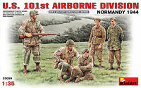 MiniArt 1/35 35089 WWII US 101st Airborne Division (Normandy 1944) w/ Prisoners