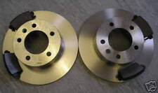 RENAULT MASTER REAR BRAKE DISCS AND PADS 2001-2010 ALL MODELS -NEXT DAY DELIVERY