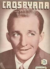 1942 Bing Crosby songbook Crosbyana sheet music 16 songs anniversary waltz more