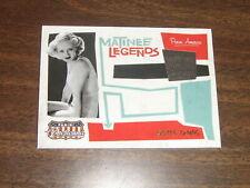 2011 Panini Americana Matinee Legends Worn Materials Bette Davis