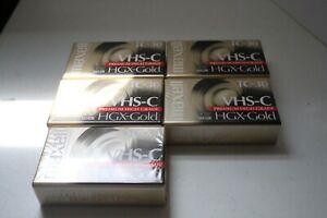 Maxell TC-30 HGX-Gold 5 pack